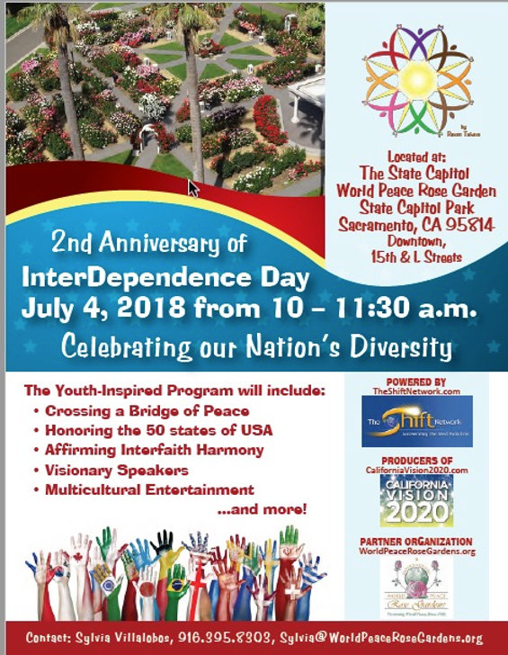 Celebrating diversity with visionary speakers, interfaith harmony and multicultural appreciation - the values our nation was founded upon. No tickets needed.