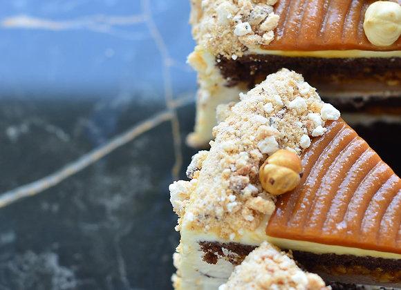 Торт Сникерс (порция)