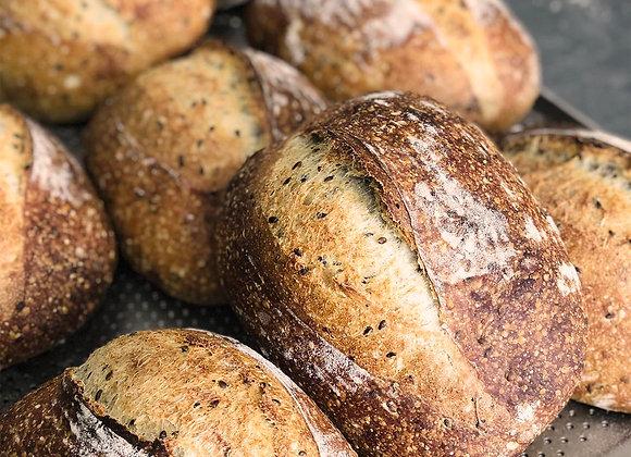 Хлеб 4 семечки