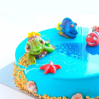 Детский торт №015
