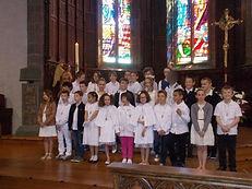 ecole école crozon Sainte Anne privee première eucharistie