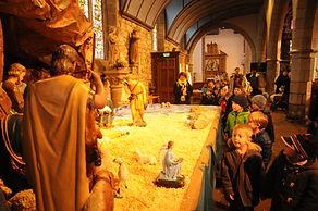ecole école crozon Sainte Anne privee Noël