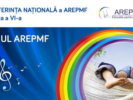 Conferința Națională din acest an a marcat un eveniment special: lansarea oficială a IMNULUI AREPMF!