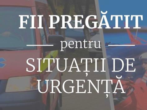 Informati-va din surse sigure: Platforma Nationala de Pregatire pentru Situatii de Urgenta