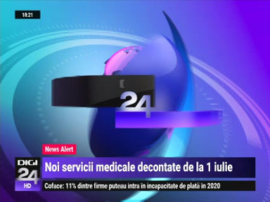 Dr. Valeria Herdea vorbește la Digi24 despre noile servicii medicale decontate de la 1 iulie 2021