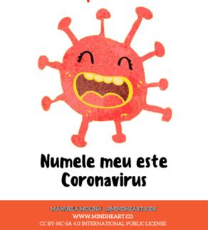 Covibook - carticica pentru copii, cu explicatii si sfaturi pe intelesul lor