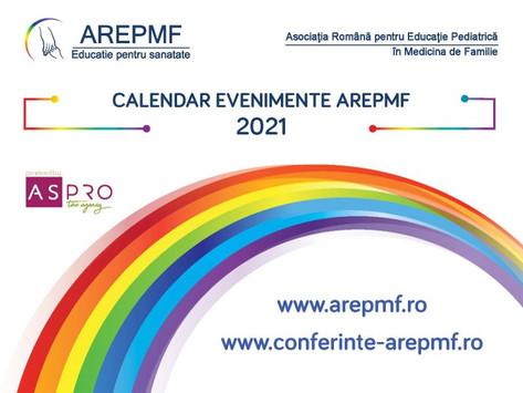 Calendar evenimente AREPMF 2021
