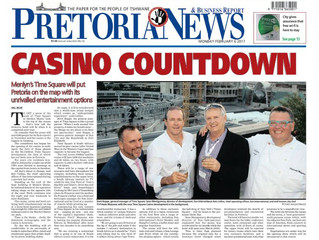 Casino Countdown - Front Page Pretoria News
