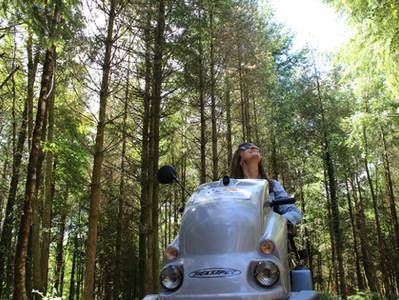 Wheeling Around the Countryside