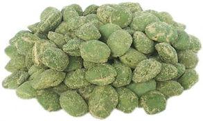 grüne Wasabi Erdnüsse