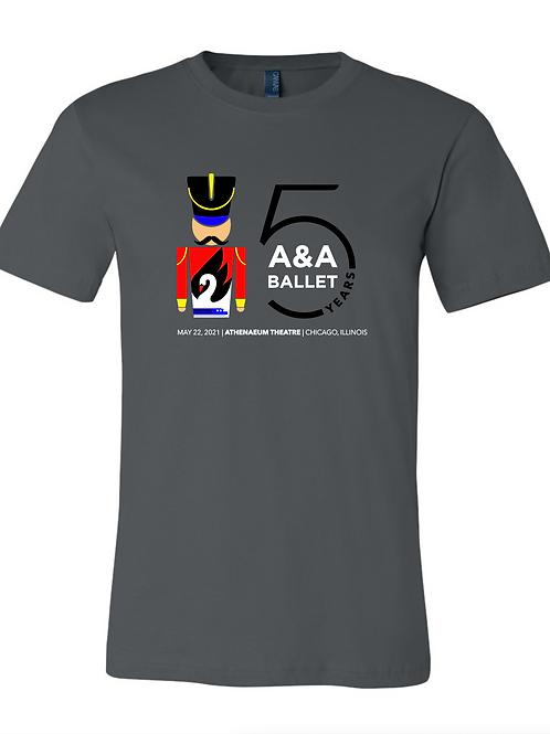 2021 Triple-Bill Production Cast T-Shirt size 2XL ONLY (unisex & women's)