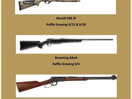 30 Days -  30 Guns Raffle