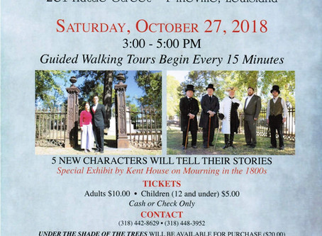 Historic Cemetery Tour - 10/27 Saturday