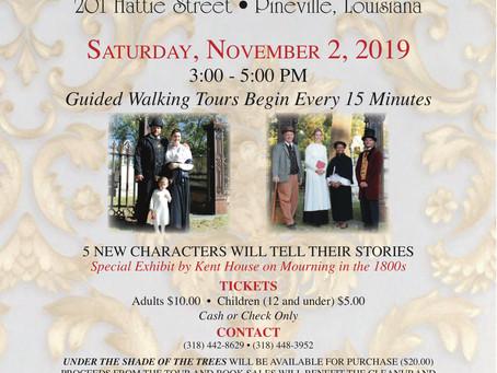 11/2/2019 - Historic Cemetery Tour