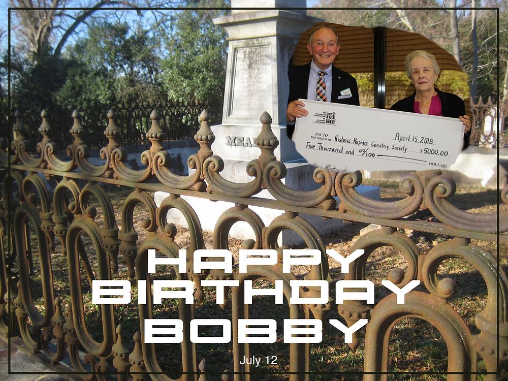 Happy Birthday, Bobby Hynson!
