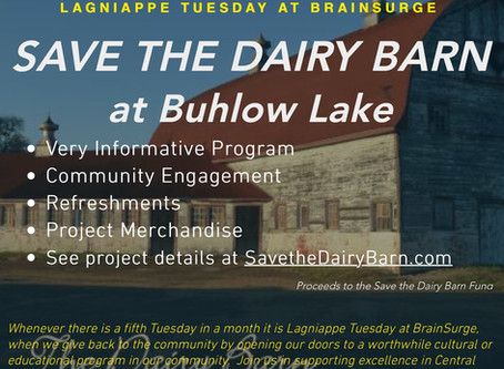 Save the Dairy Barn Fundraiser - 8/30/2016