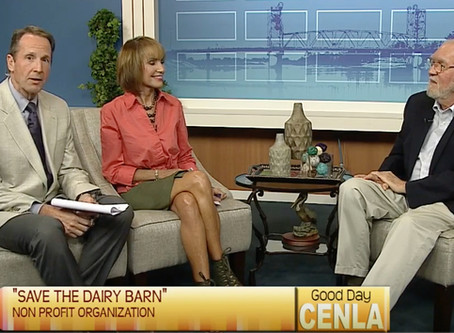 Save the Dairy Barn - Good Day CENLA
