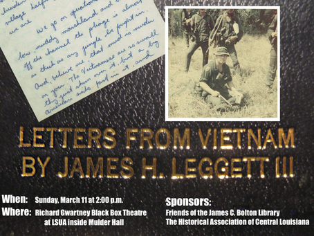 Letters from Vietnam - 3/11/2018, 2 p.m.