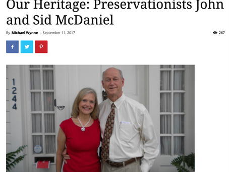 Preservationists - John and Sid McDaniel