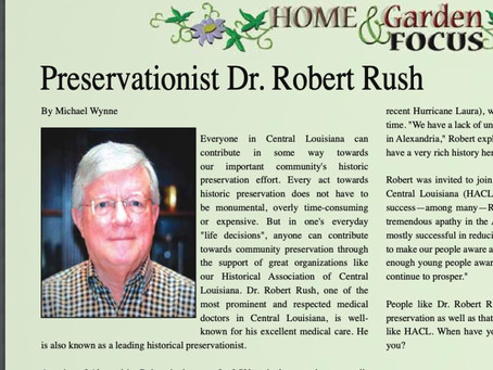 Preservationist Dr. Robert Rush