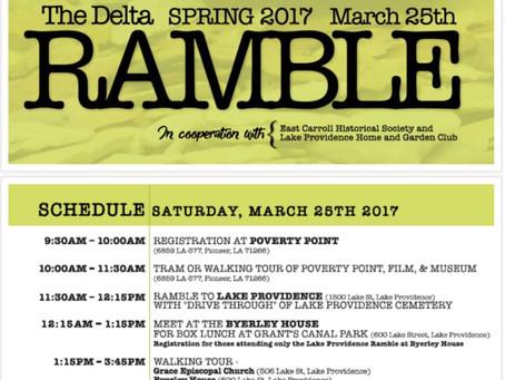 3/25/2017 - Poverty Point & Lake Providence