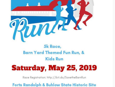 5/25/2019-Save the Dairy Barn Run - 5k