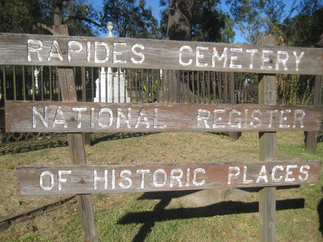 Vote daily until May 12 - Historic Rapides Cemetery