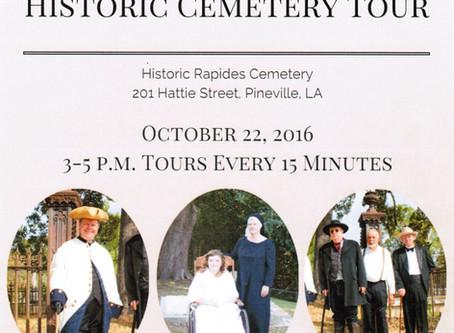 10/22/2016 - Historic Cemetery Tour