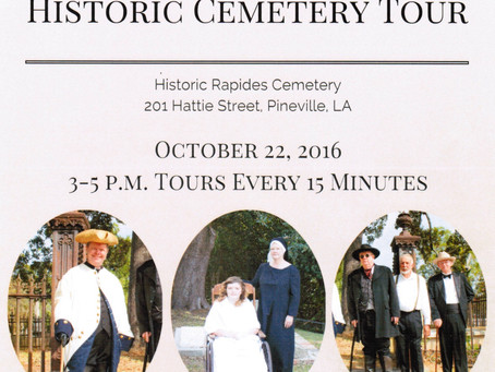 10/22/2016 - Historic Cemetery Tour