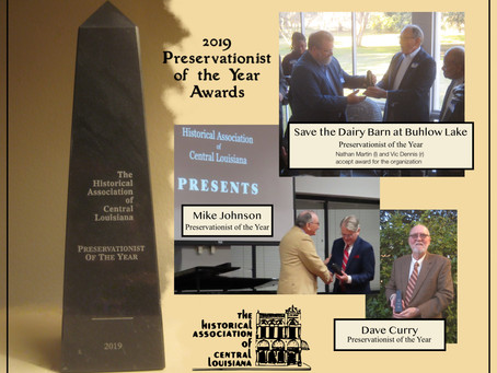 2019 Preservationist of the Year Award