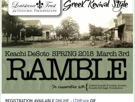 LTHP Spring Ramble - 3/3/2018
