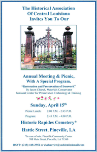 Annual Meeting and Picnic - RSVP