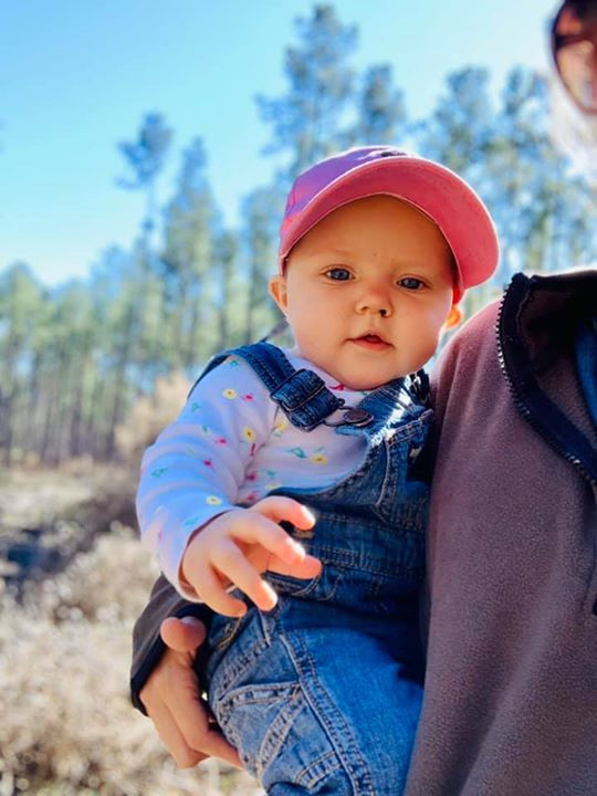 Youngest attendee ready to teach on Longleaf planting