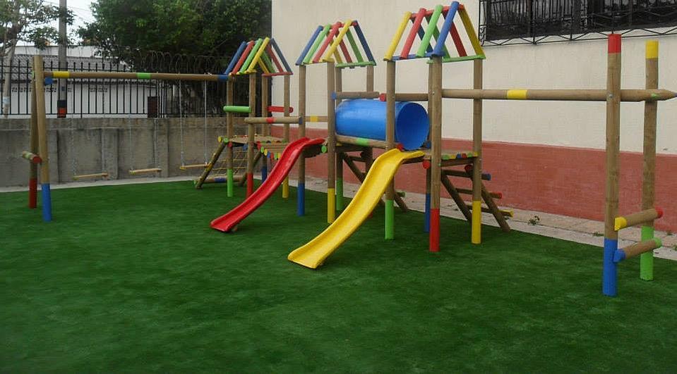 parque infantil madera spyda