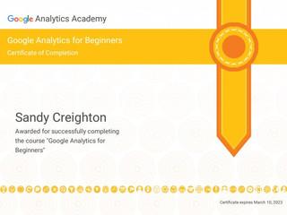 Google Analytics Beginner Certificate.jp