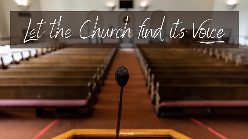 Let the Church find its Voice - larger g