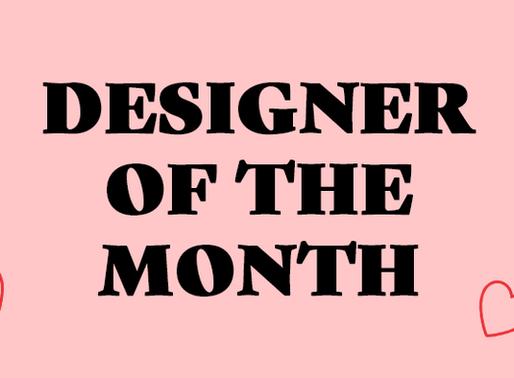 Designer of the Month: Mélanie Johnsson