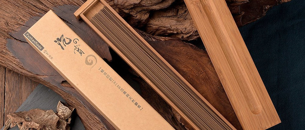 The Scent of Agarwood [205mm incense sticks in bamboo case]