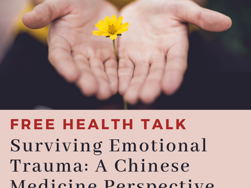 [OCT 2018] Free Community Health Talk on Stress, Anxiety, Low-mood & Depression