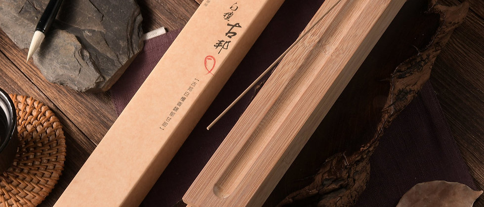Kupang Sandalwood [205mm incense sticks in bamboo case]