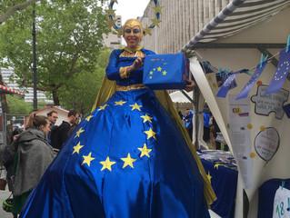 Das große Europafest auf dem Steinplatz!
