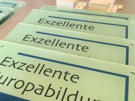 "Feierliche Verleihung des Zertifikates ""Exzellente Europabildung"""