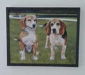 Beagels painting