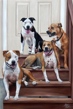 Ace, Dutch, Roxy, and Rambo
