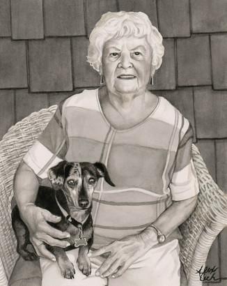 Grandmom and her Dog