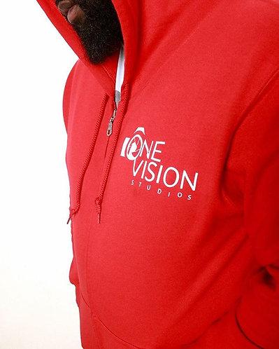 One Vision Hoodie- Red