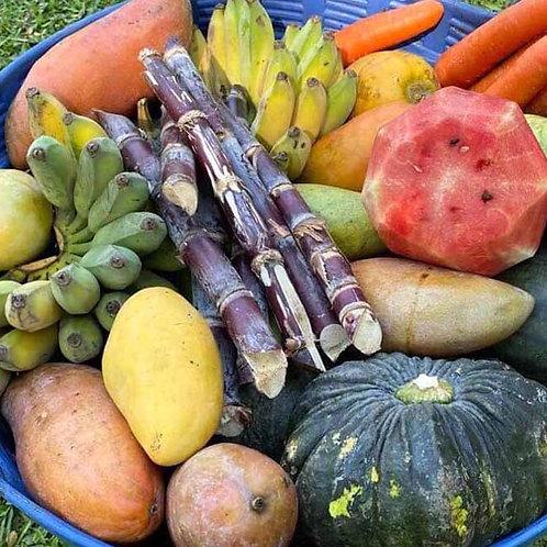 Basket of Fruit & Vegetables