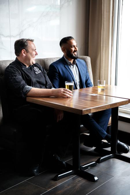 Chef David and Naveed