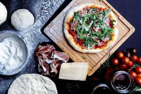 HandHandmade Traditional Thin Crust Pizza