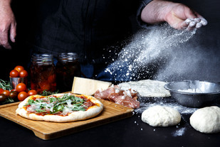 Hand Made Traditional Thin Crust Pizza